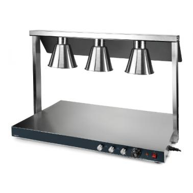 Карвинг стейшън с 3 лампи, 650W (3х250W) 40°C-90°C, 107х53х70см - Lacor