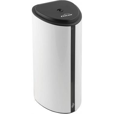 Полиетиленов диспенсър за дезинфектант/течен сапун 11x12x26см  850мл бял - Lacor
