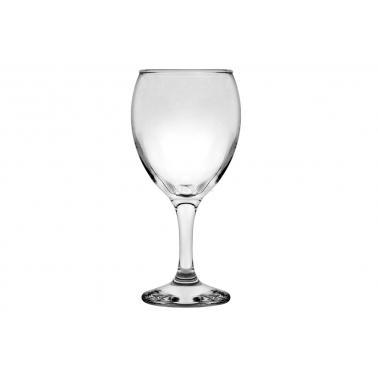 Стъклена чаша за вода / безалкохолни напитки  на столче 340мл КРОНОС 91503 ALEXANDER