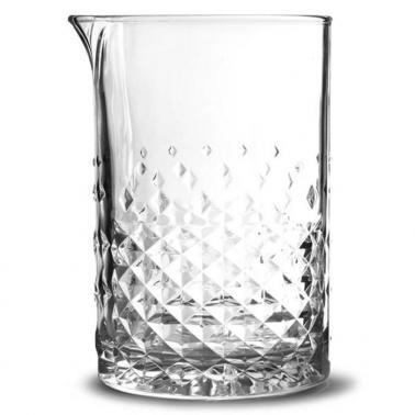 Стъклена смесителна чаша за коктейли 750мл CARATS