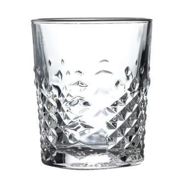 Стъклена чаша за уиски / алкохол 350мл CARATS