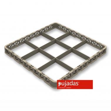 Удължител за кошница за съдомиялна (P5090TR10) за 9бр чаши, max ф151мм - Pujadas