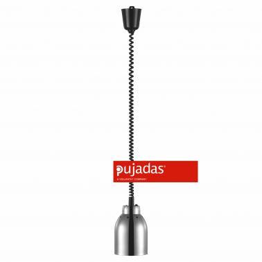 Отопляема лампа инокс, ф16см, 230V, кабел 180см - Pujadas