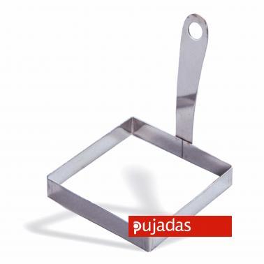 Иноксов квадратен ринг за яйце 8.5х8.5см , 11см - Pujadas