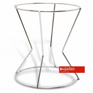Иноксова стойка за цедка 16см, Н19см - Pujadas