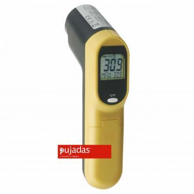 Инфрачервен  термометър с лазерна показалка от  -60°C  до +500°C  17см - Pujadas