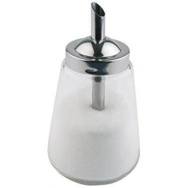 Стъклена захарница  ф8,5см  h15см 300мл - APS