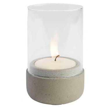 Каменен свещник ф7,5см  h13см ELEMENT - APS