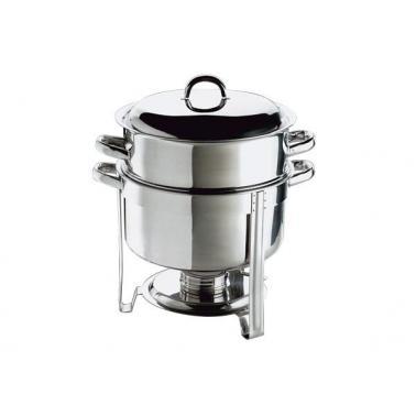 Иноксов отоплител за супа ф33см, 13,5л HOT POT - APS