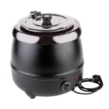 Иноксов отоплител за супа , електрически ф32см, 9л ECONOMIC - APS
