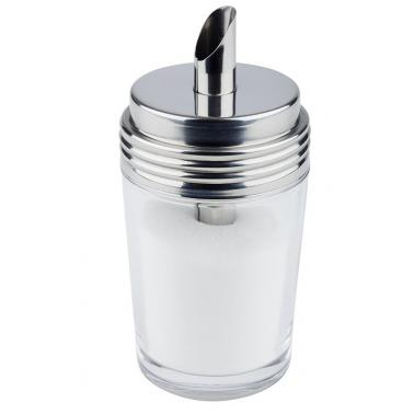Стъклена захарница  ф6,5см  h14,5см  200мл - APS