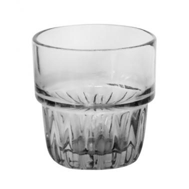 Стъклена чаша  за алкохол / аперитив  ниска 160мл  ф7х7.5см  FOXI FUME - (BMF5008-1) - Horecano