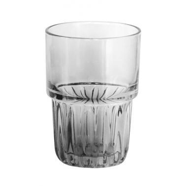 Стъклена чаша за вода / безалкохолни напитки висока 390мл ф8.5х12см FOXY FUME - (BMF5008-3) - Horecano
