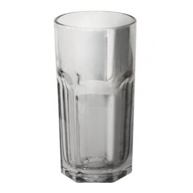 Стъклена чаша за вода / безалкохолни напитки висока 350мл ф7.3х14.5см HELLA FUME-(BR5007-3) - Horecano