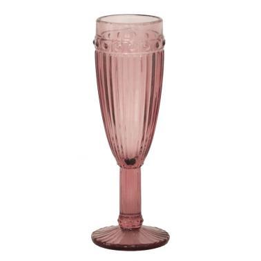 Стъклена чаша за шампанско бордо  ф6х20см  OLD SCHOOL- (HC-93948) - Horecano