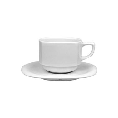 Порцеланова чаша с чинийка 230мл MARS (MRS 02 CT) ГП  - Gural Porselen