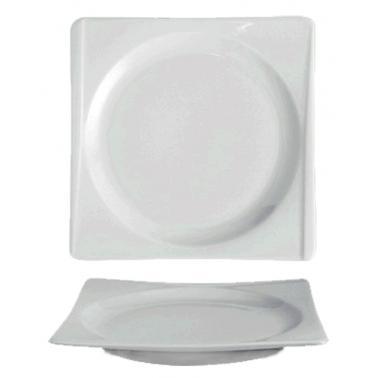 Порцеланова чиния 25см (18х18см)  HONG KONG (HKG 25 DU)ГП  - Gural Porselen