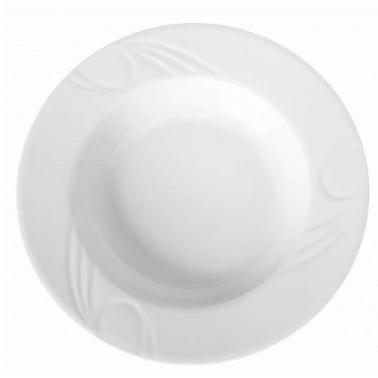 Порцеланова чиния дълбока ф22см  KARIZMA (KZM 22 CK)ГП  - Gural Porselen