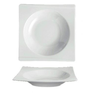 Порцеланова чиния дълбока 28см (20х20см)  HONG KONG (HKG 28 CK)ГП  - Gural Porselen