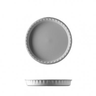 Порцеланова кръгла форма за печене 24см бяла HOME BAKING - G.Benedikt