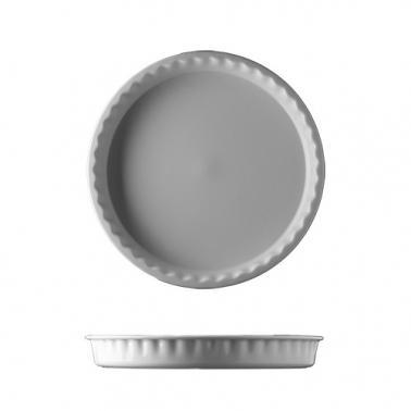 Порцеланова кръгла форма за печене 28см бяла HOME BAKING - G.Benedikt