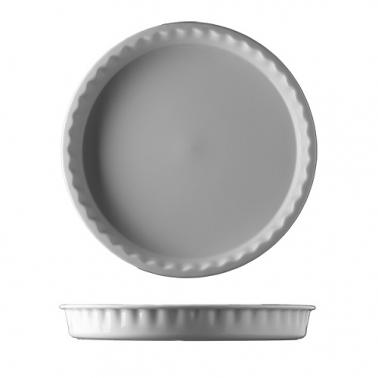 Порцеланова кръгла форма за печене 32см бяла HOME BAKING - G.Benedikt