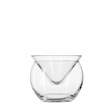 Стъклена чаша за коктейли / мартини 170мл чилър 70855