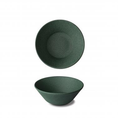 Порцеланова купа ф15см h5.5см GRANIT Verde No.3, грапав - G.Benedikt