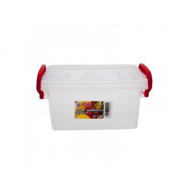 Пластмасова кутия за съхранение, правоъгълна 1л