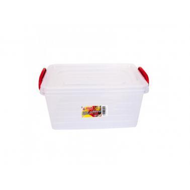 Пластмасова кутия за съхранение, правоъгълна 3л