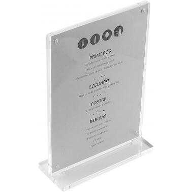 Акрилна поставка за меню за маса 15x21см - Lacor