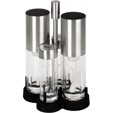 Стъклен оливерник - спрей 4 части 90/65мл - Lacor