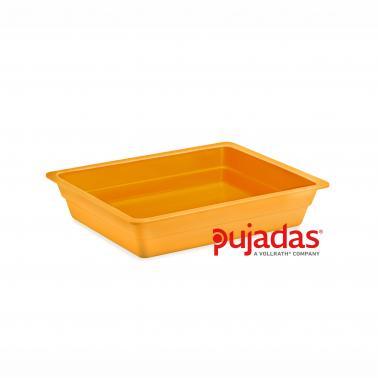Меламинов гастронорм  жълт  GN 1/2 325x265x40мм CLASSIC COLORS - Pujadas