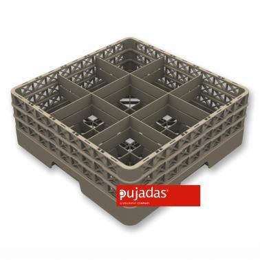 Кошница за съдомиялна за 9бр чаши, max ф151мм, max h200мм - Pujadas