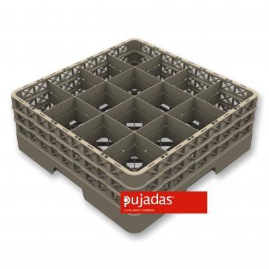 Кошница за съдомиялна за 16бр чаши, max ф113мм, max h160мм - Pujadas