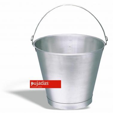 Иноксова кофа 15л, ф 32,5см, Н 32,5см - Pujadas