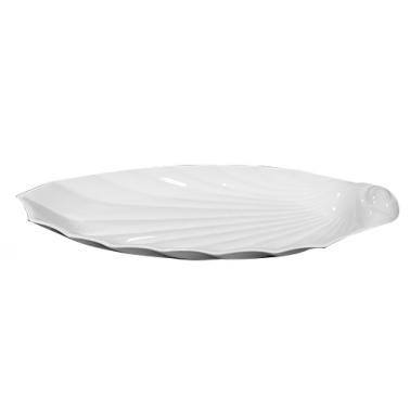 Порцеланово плато рапан 41см   SEA FOOD (ESPRD 41 DKKY)ГП  - Gural Porselen