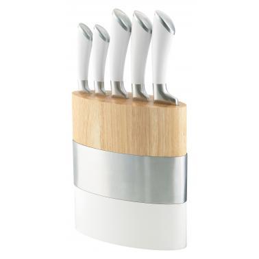 Комплект кухненски ножове 5 бр. с дървена стойка FUSION - Richardson Sheffield