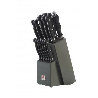 Комплект кухненски ножове 15 бр. с дървена стойка Artisan - Richardson Sheffield