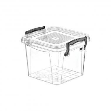 Пластмасова кутия контейнер квадрат №2 2.4л. (SA-260)  -  Irak Plastik
