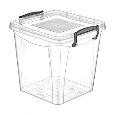 Пластмасова кутия контейнер квадрат дълбока 7.7л. (SA-280)  -  Irak Plastik
