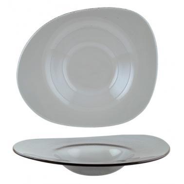Стъклена дълбока чиния 27х32см BONNA-GLASS VAO-(GLVAO 32KS)