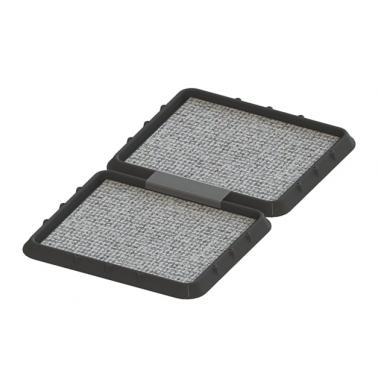 Комплект от 2бр вани за дезинфекция  (размер на 1бр -  48.5x42.5см) - Horecano