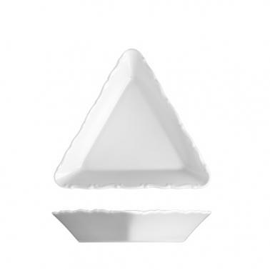 Порцеланова триъгълна купа 14см VERONA - G.Benedikt