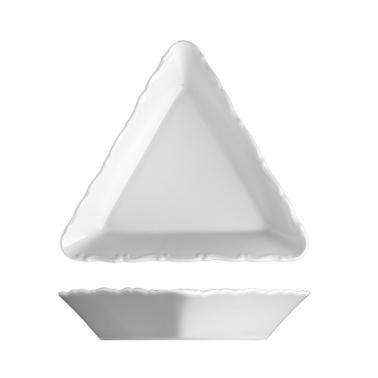 Порцеланова триъгълна купа 19см VERONA- G.Benedikt