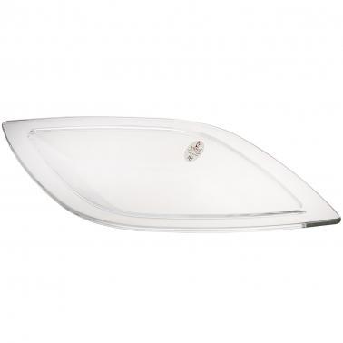 Стъклено плато 45х26см LEAF 62967 - VIDIVI