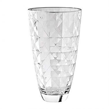 Стъклена ваза h24см CARRE 66139 - VIDIVI