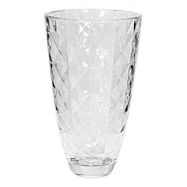 Стъклена ваза  h30см CARRE 66140 - VIDIVI