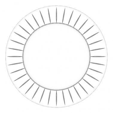Стъклено плато 32см  ACCADEMIA 67609 - VIDIVI