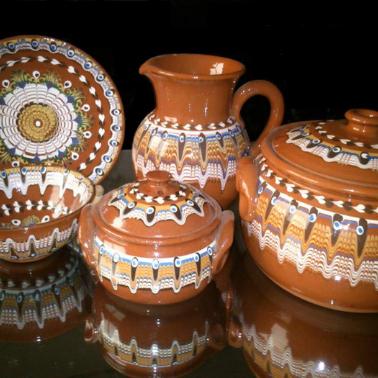 Ръчно рисувана керамика